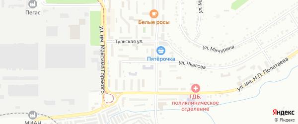 Улица 30-летия ВЛКСМ на карте Златоуста с номерами домов