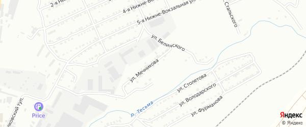 Улица им И.И.Мечникова на карте Златоуста с номерами домов