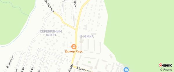 5-й микрорайон на карте Златоуста с номерами домов