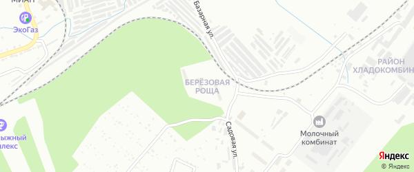 Березовая улица на карте Златоуста с номерами домов