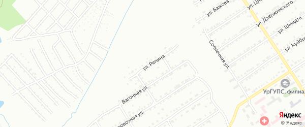 Улица им И.Е.Репина на карте Златоуста с номерами домов