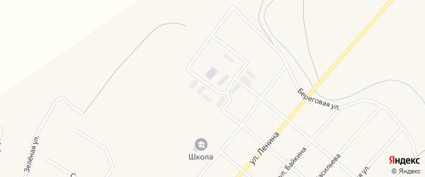 Молодежная улица на карте Остроленского поселка с номерами домов