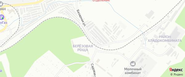 Садовая улица на карте Златоуста с номерами домов