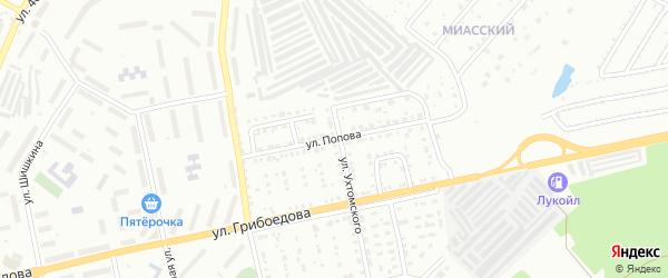 Улица им С.М.Кирова на карте Златоуста с номерами домов