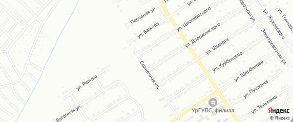 Улица им К.Э.Циолковского на карте Златоуста с номерами домов