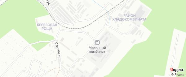 Садовая улица на карте Центрального поселка с номерами домов