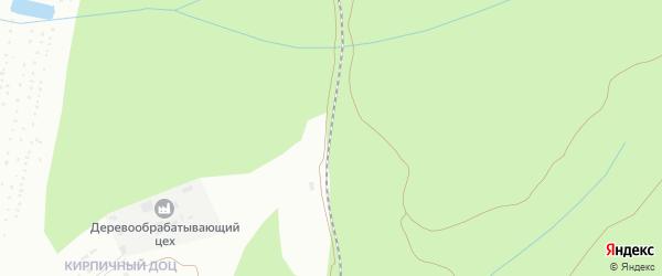 Железнодорожная платформа 1948 км на карте Златоуста с номерами домов