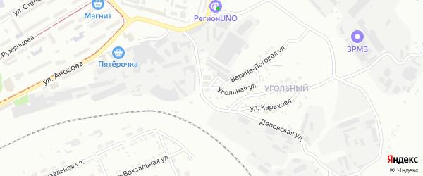 Деповская улица на карте Златоуста с номерами домов