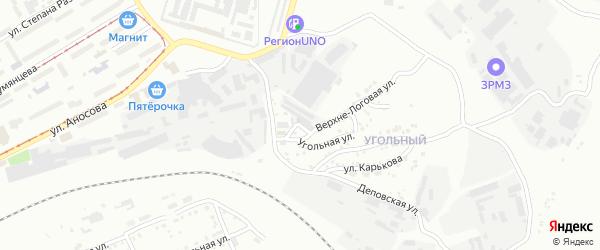 Нижне-Логовая улица на карте Златоуста с номерами домов