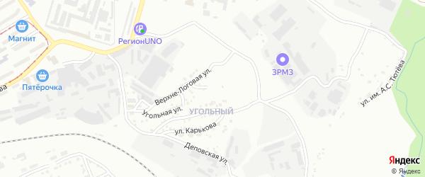 Рудничная улица на карте Златоуста с номерами домов