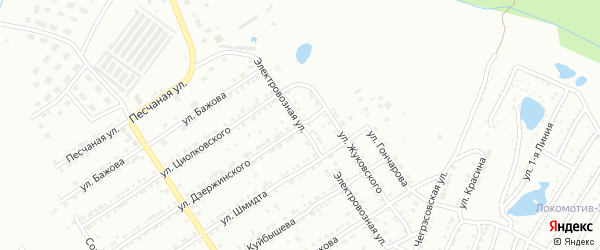 Электровозная улица на карте Златоуста с номерами домов