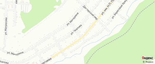 Переулок им И.П.Павлова на карте Златоуста с номерами домов