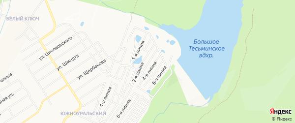 ГСК Локомотив-3 на карте Златоуста с номерами домов