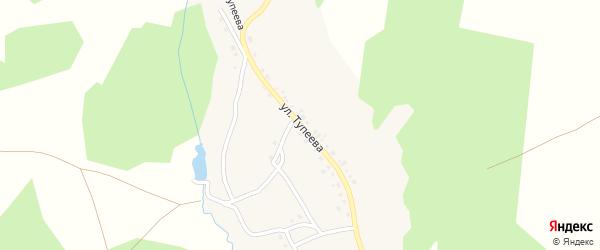 Улица Тупеева на карте деревни Каримово с номерами домов