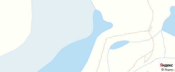 7-й переулок на карте Южного поселка с номерами домов