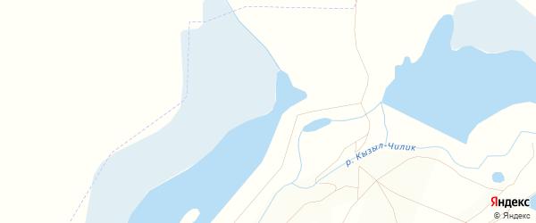 Карта Южного поселка в Челябинской области с улицами и номерами домов