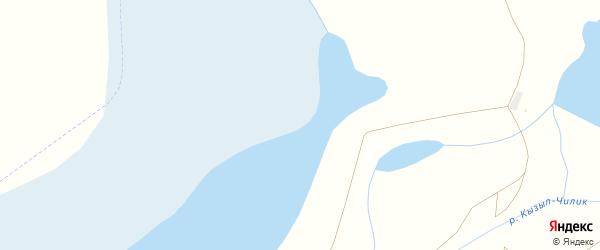 Улица Первооткрывателей на карте Южного поселка с номерами домов