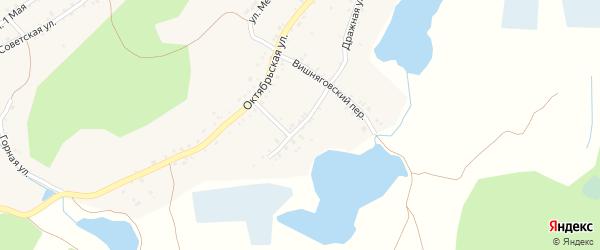 Петропавловский переулок на карте поселка Ленинска с номерами домов