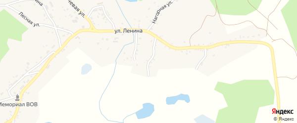 Механический переулок на карте Миасса с номерами домов
