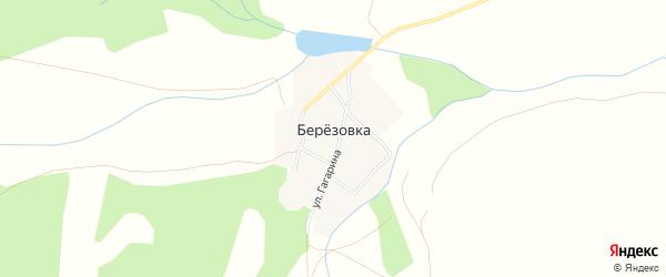Карта поселка Березовки в Челябинской области с улицами и номерами домов