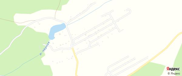 СНТ Лиственный сад на карте Миасса с номерами домов