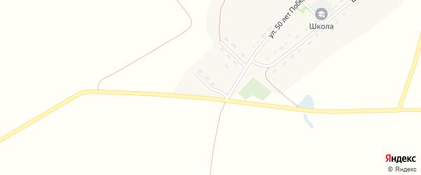 Молодежная улица на карте поселка Знаменки с номерами домов