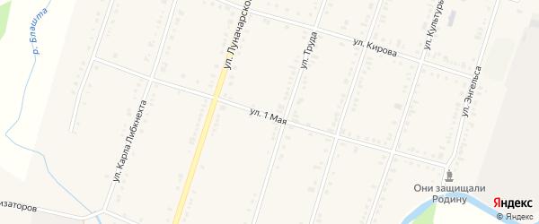 1 Мая улица на карте поселка Нижнего Уфалея с номерами домов