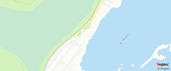 Сад СНТ Восход на карте Миасса с номерами домов