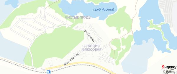 Узловая улица на карте Миасса с номерами домов