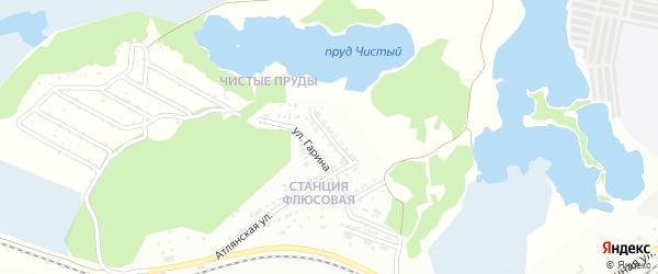 Улица Тимирязева на карте Миасса с номерами домов
