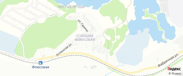 Улица Гарина на карте Миасса с номерами домов