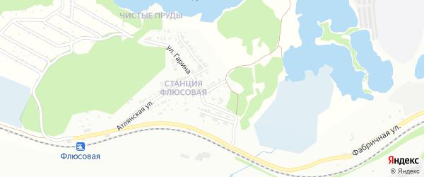 Улица Вознесенского на карте Миасса с номерами домов
