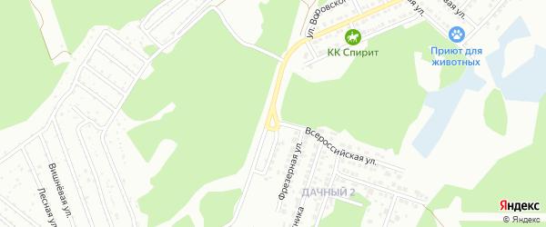 Машиностроительная улица на карте Миасса с номерами домов