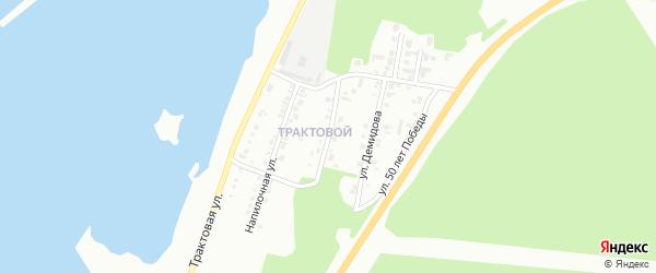 Улица Демидова на карте Миасса с номерами домов