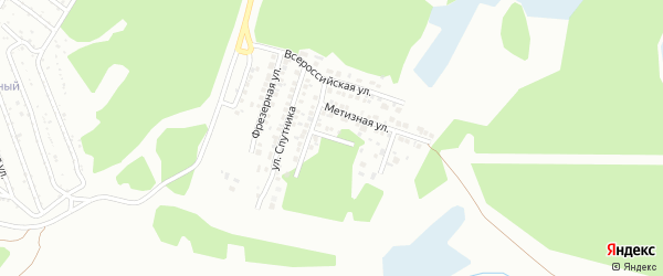 Слесарная улица на карте Миасса с номерами домов
