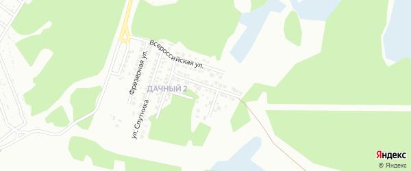 Метизная улица на карте Миасса с номерами домов