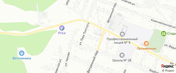 9 Мая улица на карте Миасса с номерами домов