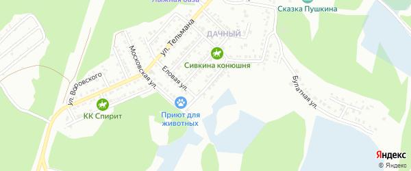 Улица Декабристов на карте Миасса с номерами домов