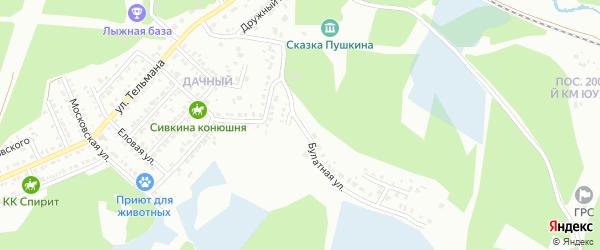 Булатная улица на карте Миасса с номерами домов