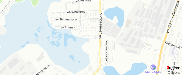 Товарная улица на карте Миасса с номерами домов