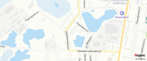 Улица 40 лет ВЛКСМ на карте Миасса с номерами домов