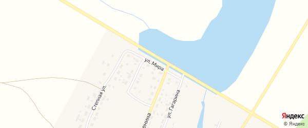 Улица Мира на карте деревни Вандышевки с номерами домов