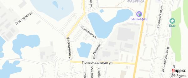 Уйская улица на карте Миасса с номерами домов
