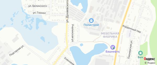 Магнитогорская улица на карте Миасса с номерами домов