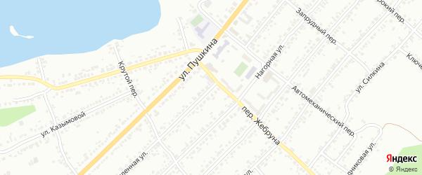 Ремесленная площадь на карте Миасса с номерами домов