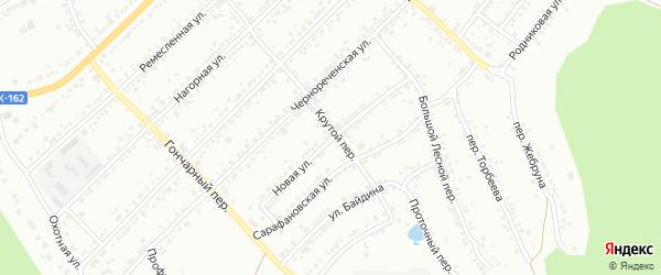 Новая улица на карте Миасса с номерами домов