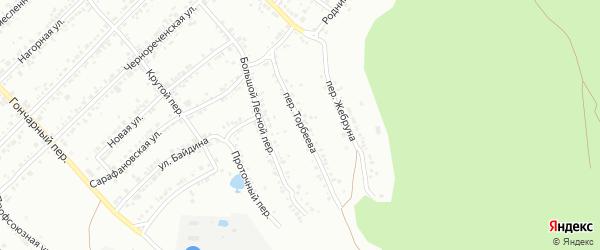 Улица Торбеева на карте Миасса с номерами домов