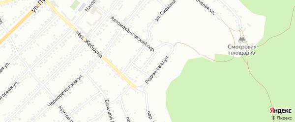 Улица Кутузова на карте Миасса с номерами домов