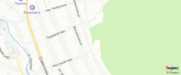 Улица Киселева на карте Миасса с номерами домов
