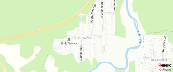 Монастырская улица на карте Миасса с номерами домов